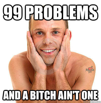 99 Problems and a bitch ain't one
