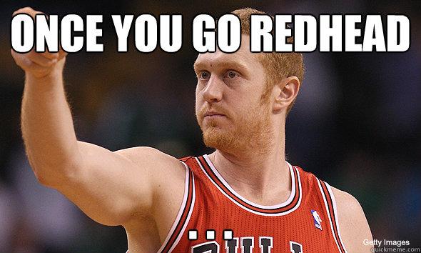 Dating a redhead boy