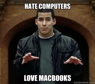 Hate Computers Love MacBooks