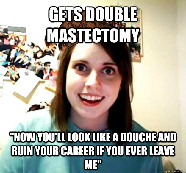 GETS DOUBLE MASTECTOMY
