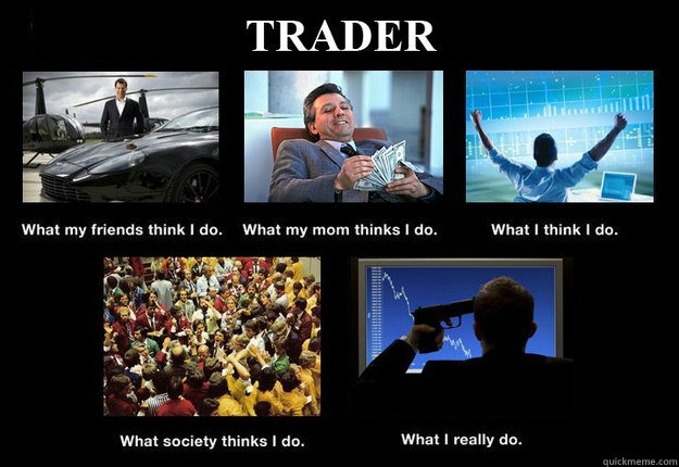 Forex trading is like addiction