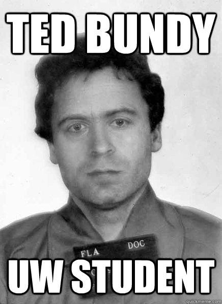 Ted Bundy UW Student - Ted Bundy UW Student  Misc