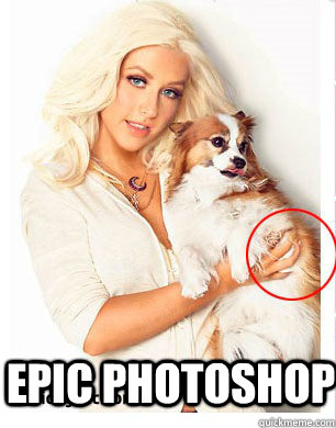 Are absolutely Epic photoshop fails girls