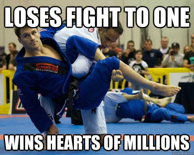 loses fight to one wins hearts of millions - loses fight to one wins hearts of millions  Ridiculously Photogenic Jiu Jitsu Guy