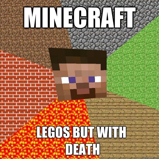 Minecraft Legos but with  DEATH  Minecraft