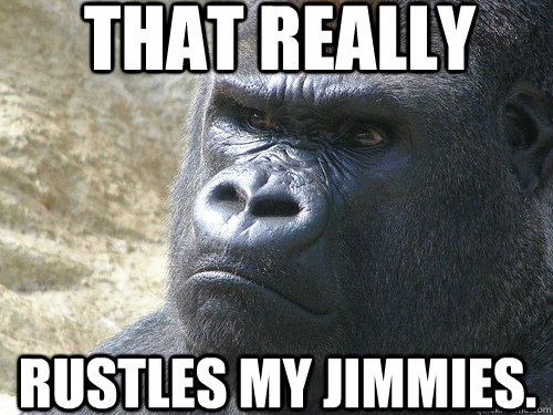 that really Rustles my jimmies.