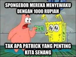 Not Spongebob has no penis