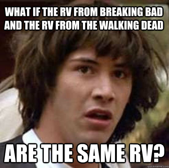 Is The Walking Dead A Sequel To Breaking Bad Youtube: What If The RV From Breaking Bad And The RV From The