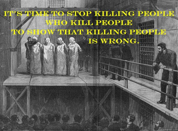 Untitled - stop killing people - quickmeme