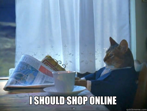 I should shop online