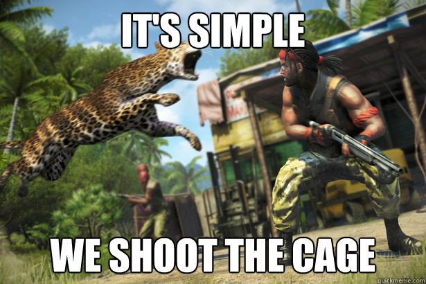 It's Simple We shoot the cage - It's Simple We shoot the cage  Misc
