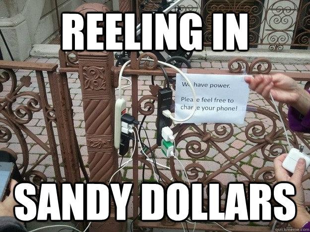 Reeling in sandy dollars - Reeling in sandy dollars  Phone Fishing