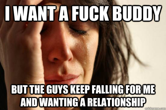 falling for a fuck buddy