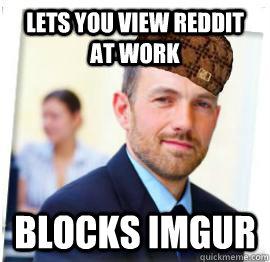 Lets you view reddit at work blocks imgur