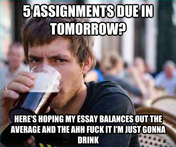 My essay is due tomorrow!!!?