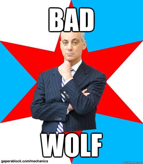 BAD WOLF - BAD WOLF  Mayor Emanuel