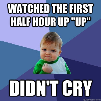 Watched the first half hour up