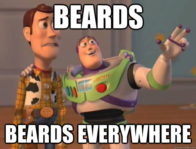 BEARDS BEARDS everywhere - BEARDS BEARDS everywhere  Toy Story