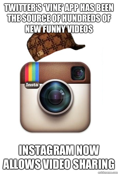 Funny Memes Vines : Exists to add a pretty filter pictures of half eaten
