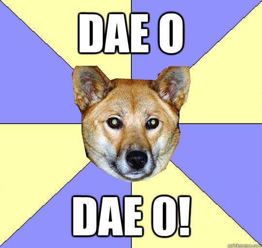 DAE o  DAE 0!   DAE Dingo