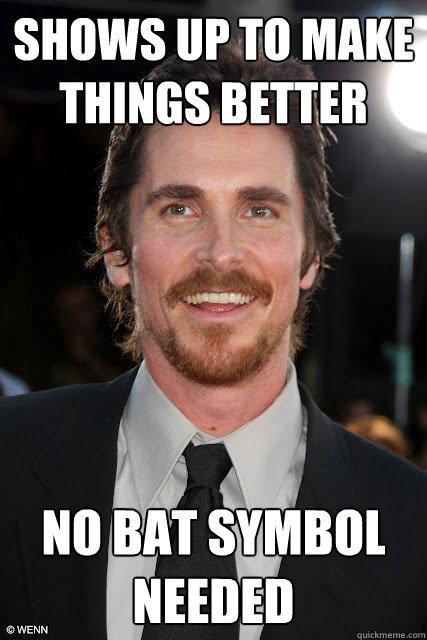 Christian bale dating meme