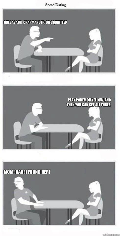 Mom speed dating