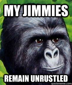 My Jimmies Remain unrustled