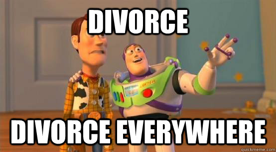 Divorce divorce everywhere