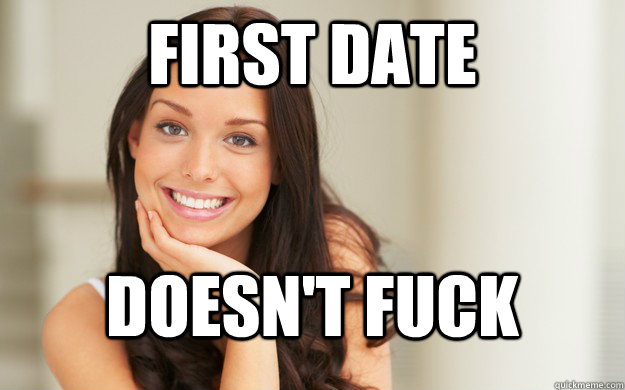 How to fuck on the first date