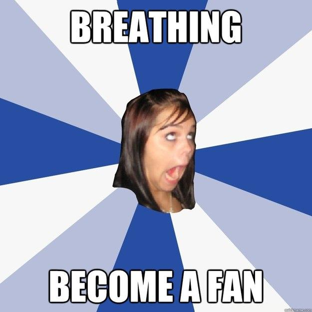 BREATHING BECOME A FAN - BREATHING BECOME A FAN  Annoying Facebook Girl