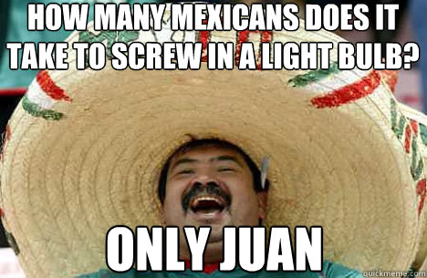 how many mexicans does...