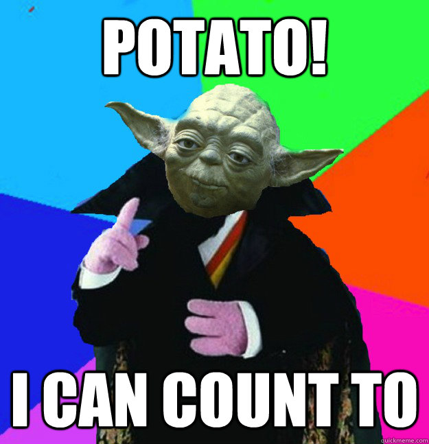 Potato! I can count to - Potato! I can count to  Misc