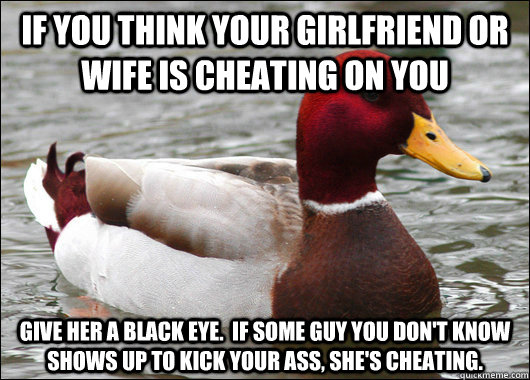 What To Do If You Think She Is Cheating