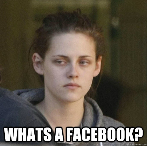 whats a facebook? -  whats a facebook?  Underly Attached Girlfriend