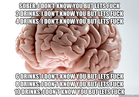 Sober: I don't know you but lets fuck 2 Drinks: I don't know you but lets fuck  4 Drinks: I don't know you but lets fuck 6 Drinks: I don't know you but lets fuck 8 Drinks: I don't know you but lets fuck 10 Drinks: I don't know you but lets fuck - Sober: I don't know you but lets fuck 2 Drinks: I don't know you but lets fuck  4 Drinks: I don't know you but lets fuck 6 Drinks: I don't