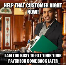 Funny Restaurant Manager Pictures