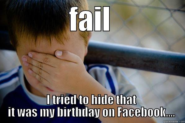 Funny Birthday Meme For Facebook : Undercover birthday fail quickmeme