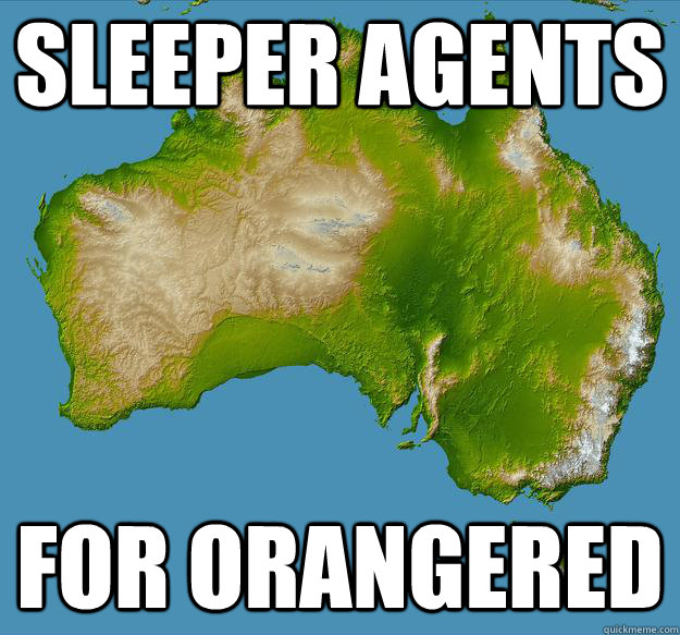 sleeper agents  for orangered