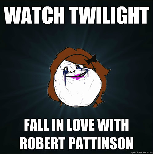 watch twilight fall in love with robert pattinson