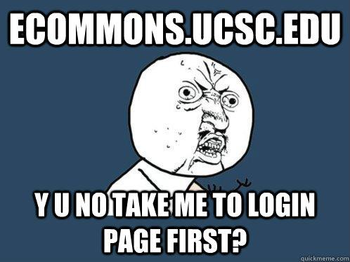 ecommons ucsc login