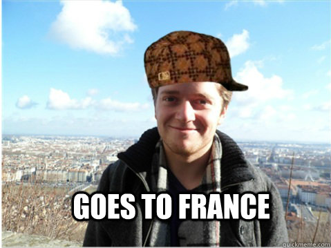 Goes to France