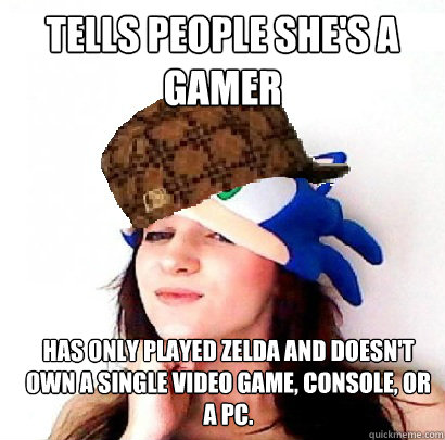 Scumbag Gamer Girl memes | quickmeme