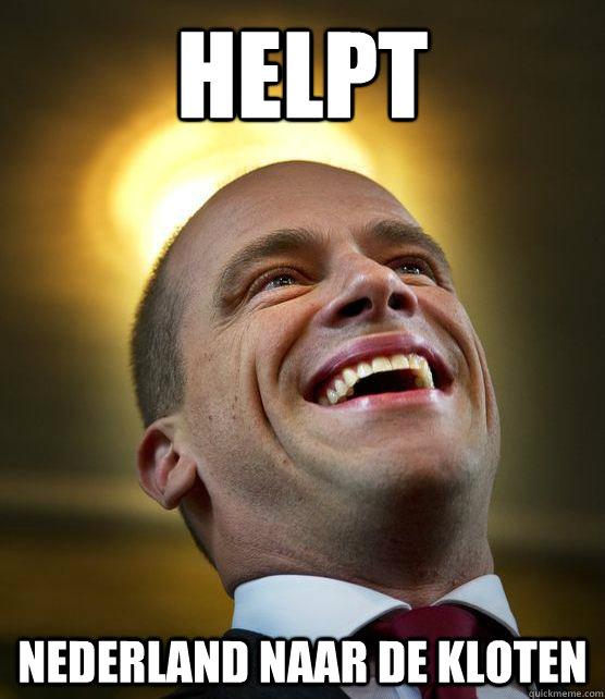 Helpt Nederland naar de kloten