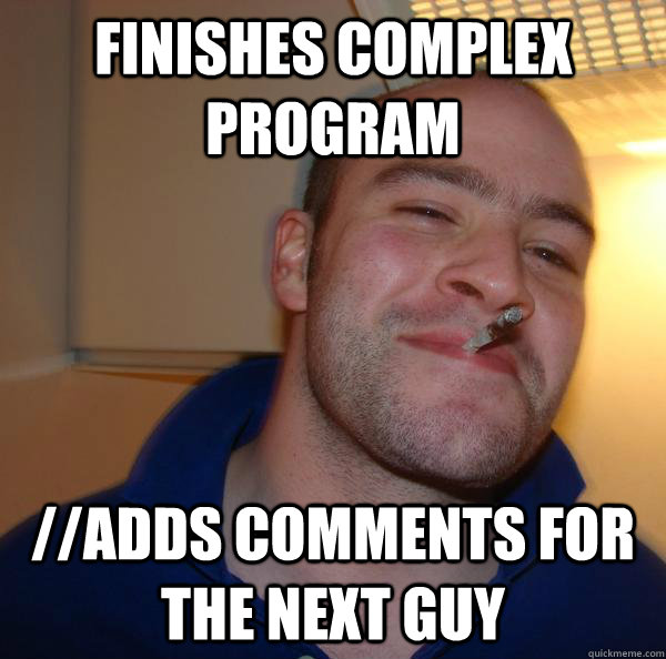 finishes complex program //adds comments for the next guy - finishes complex program //adds comments for the next guy  Misc