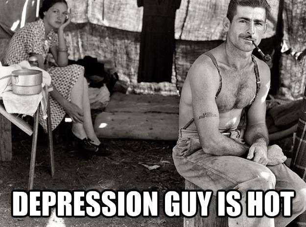 DEPRESSION GUY IS HOT