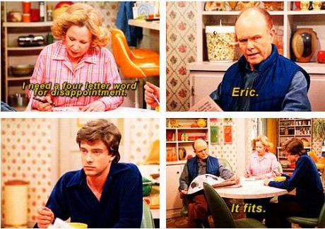 That '70's show never disappoints