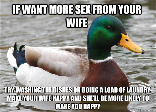 Make your wife want more sex