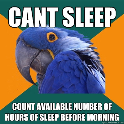 how to stop sleep paranoia