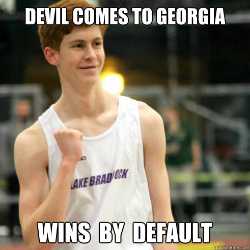Devil comes to georgia Wins  by  default - Devil comes to georgia Wins  by  default  Success Ginger