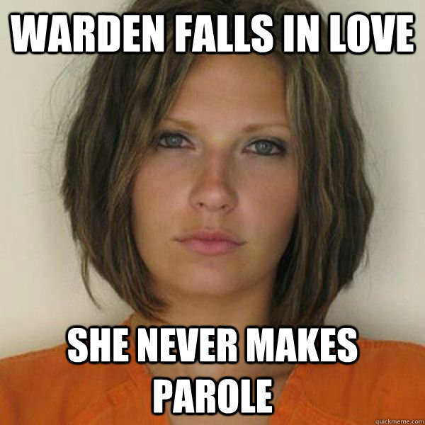 Warden falls in love She never makes parole - Warden falls in love She never makes parole  Attractive Convict